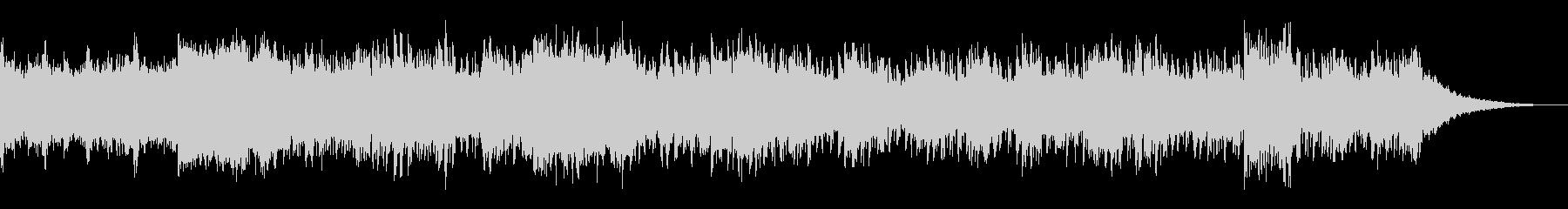 エレクトリックでノイジーなサウンドスケーの未再生の波形