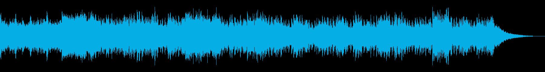 エレクトリックでノイジーなサウンドスケーの再生済みの波形