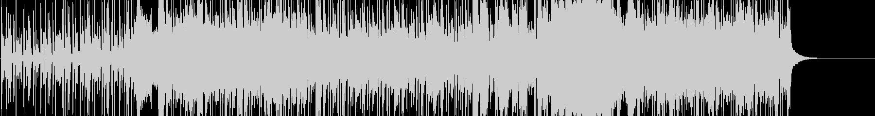 ファンキーロックミュージックの未再生の波形