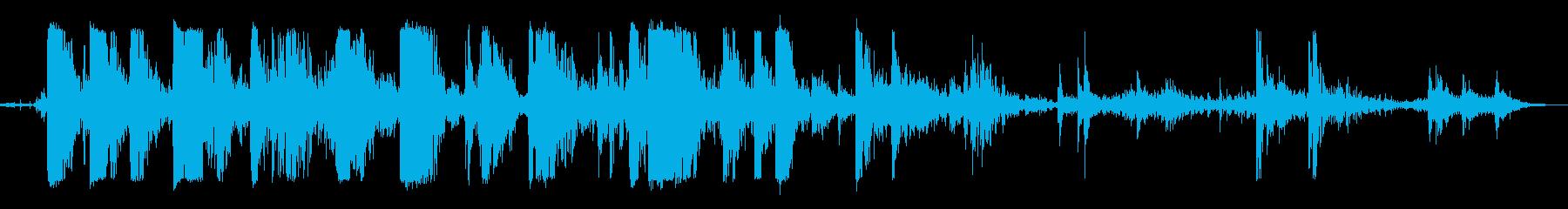 ウッドクラッシュ;軽鎖ガラガラと破...の再生済みの波形