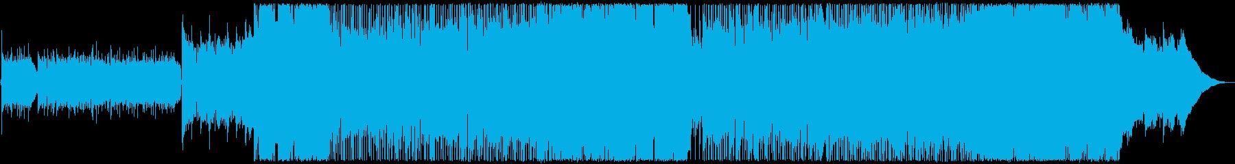 ポップ/ロックインストゥルメンタル...の再生済みの波形