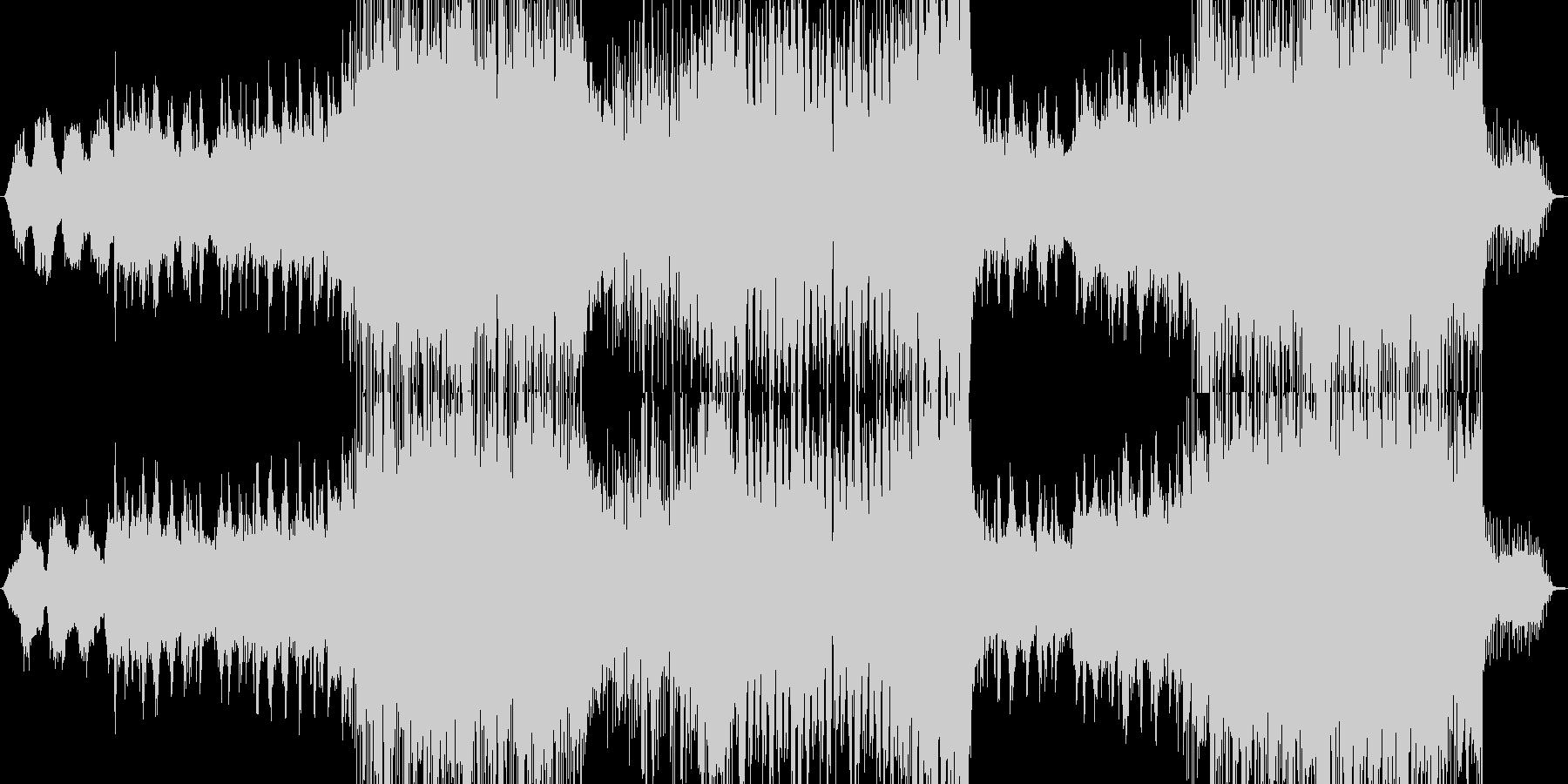 冬っぽいインストの未再生の波形
