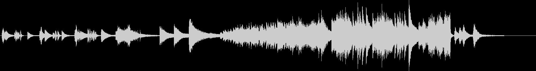 トッカータとフーガをピアノソロアレンジの未再生の波形