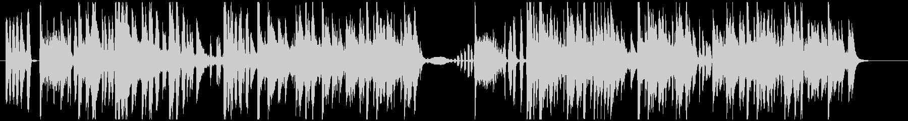 ラテンとヒップホップのフレアとこの...の未再生の波形