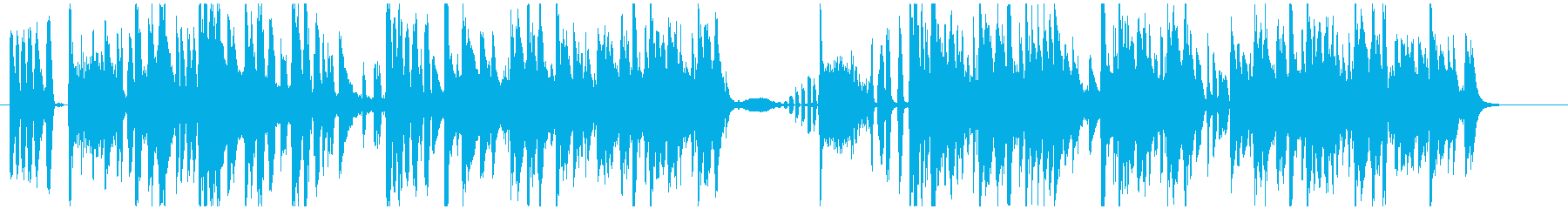 ラテンとヒップホップのフレアとこの...の再生済みの波形