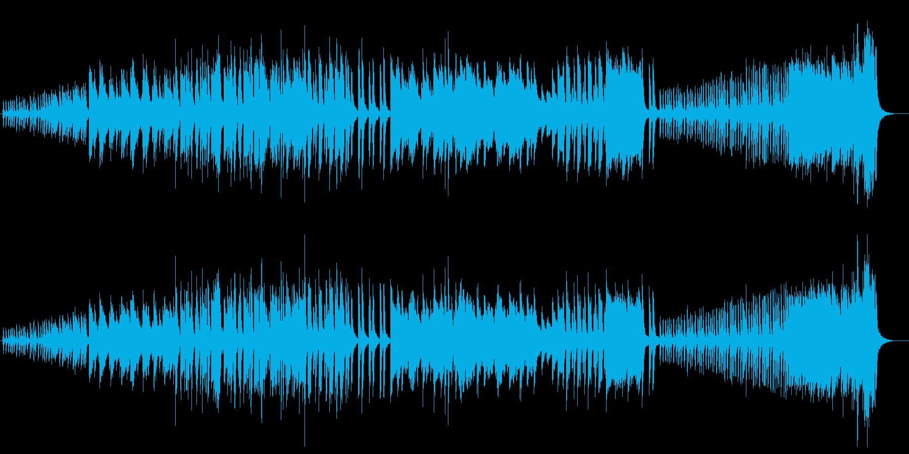 ピアノ/疾走感/予感/緊張/怖いの再生済みの波形