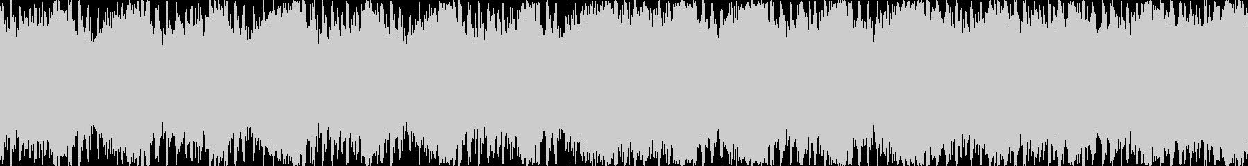 希望に満ちたポジティブな明るい曲 ループの未再生の波形