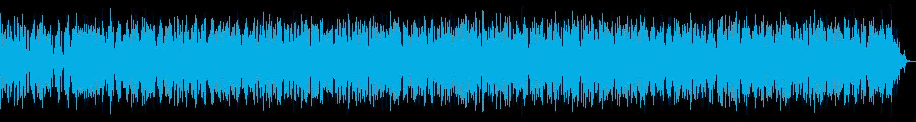 大自然をイメージしたワールドミュージックの再生済みの波形