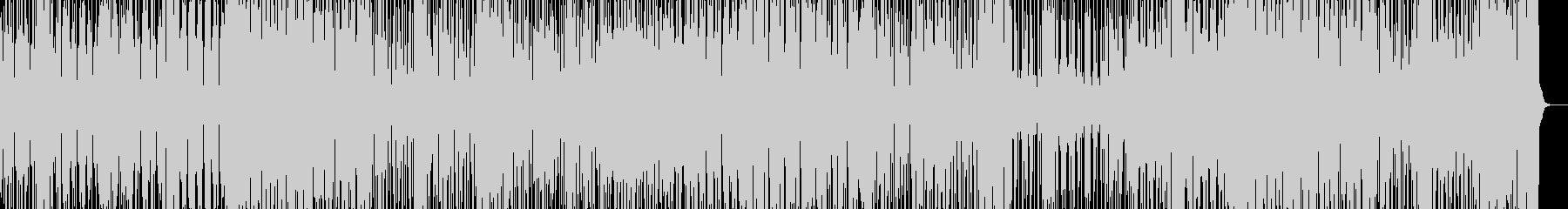 夏のワクワクするファンク曲 カリンバ 海の未再生の波形