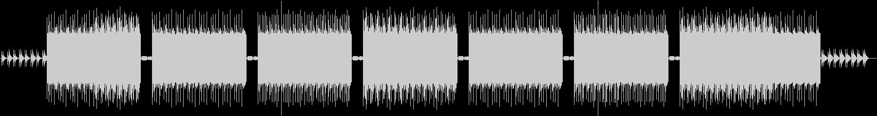 ピアノフレーズが印象的なtrapトラックの未再生の波形