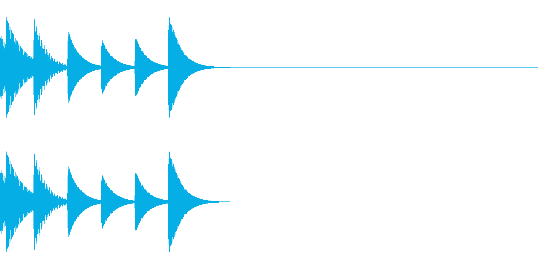 アイキャッチ/システム音/エラー音/2の再生済みの波形