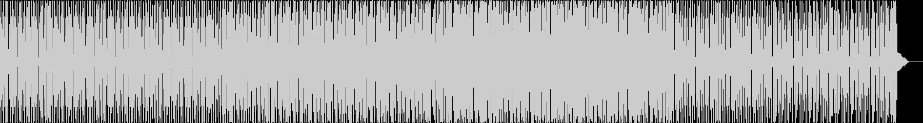コミカルなテクノ ディスコ ホラーの未再生の波形