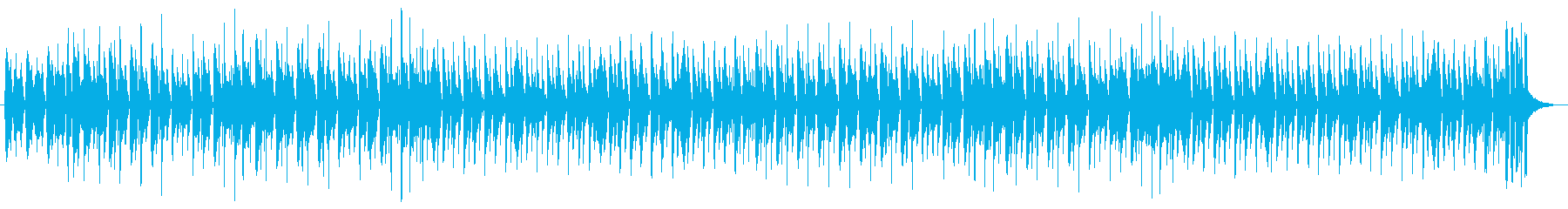 ほのぼのした日常感のBGMの再生済みの波形