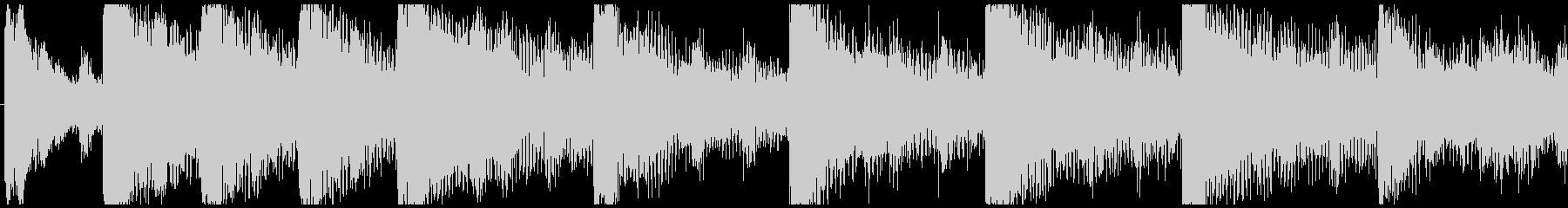 ハローウィン用のホラー曲-ループ2の未再生の波形