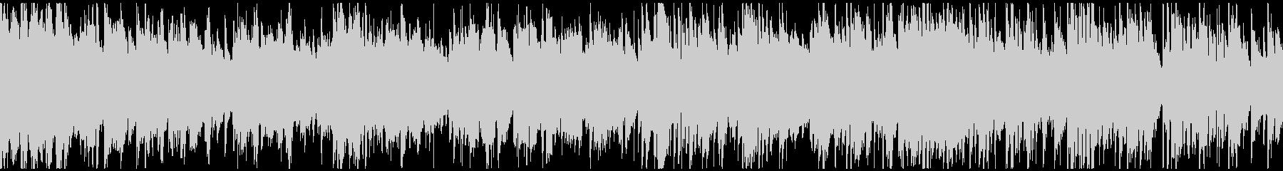 穏やかな低音メロディのボサノバ※ループ版の未再生の波形