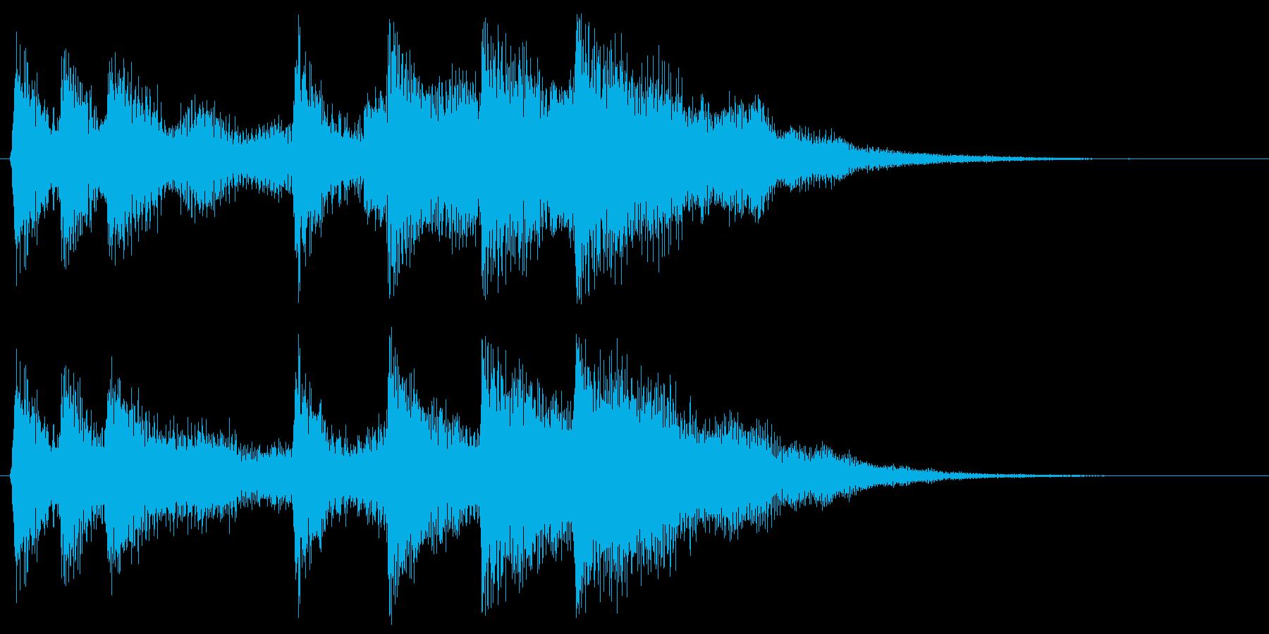 ピコピコ音、レトロなゲームオーバー 残念の再生済みの波形