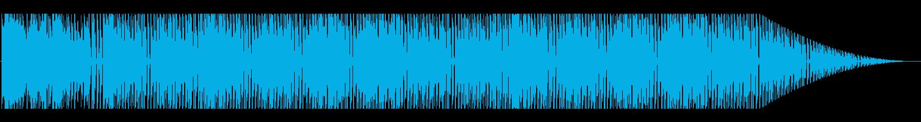 空に関連する乗り物、ステージに合うBGMの再生済みの波形