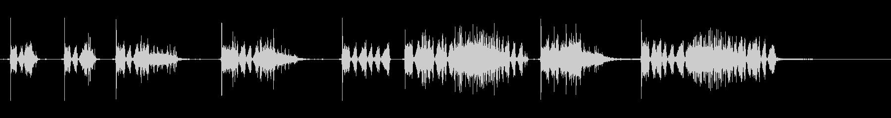 カーフォールススタート、V-8、近...の未再生の波形