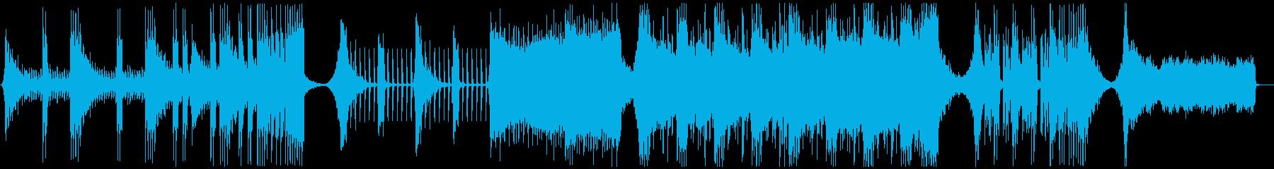【予告編】トレーラー・ハリウッド・ロックの再生済みの波形