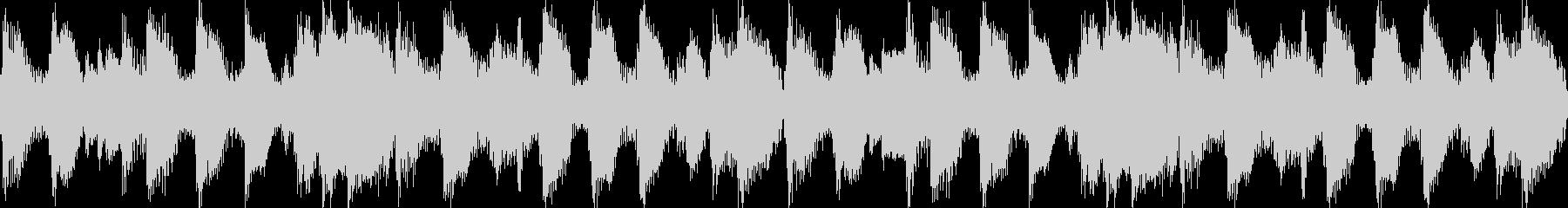 西部劇風(ループ素材)の未再生の波形