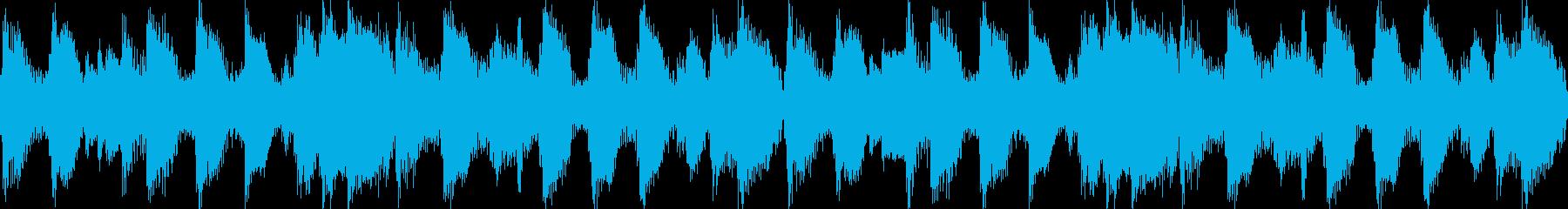 西部劇風(ループ素材)の再生済みの波形