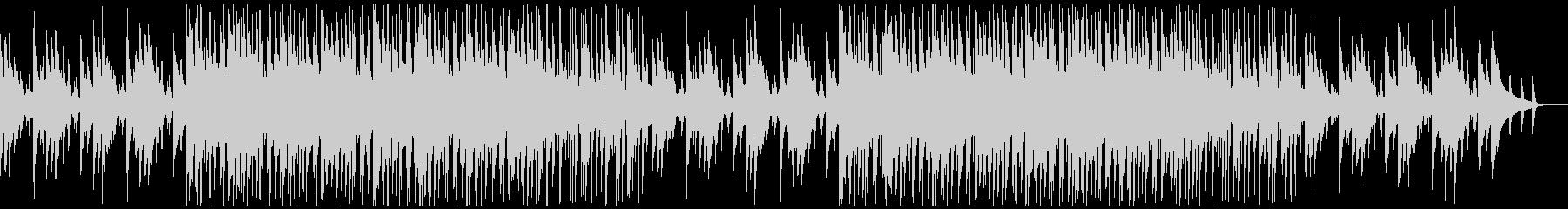 シンプルなエレキギターのヒップホップの未再生の波形