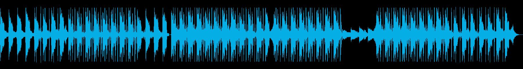 夢の中、波の音、メロウHIPHOPビートの再生済みの波形