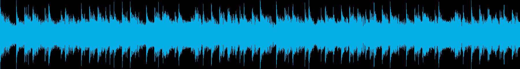 シンセサイザー、ギター、パッド、電...の再生済みの波形