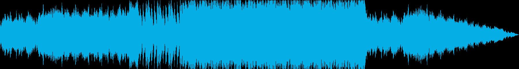奇跡の予兆と始動のBGMの再生済みの波形