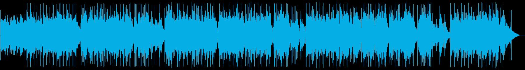 ギターデュオのニューエイジサウンドの再生済みの波形