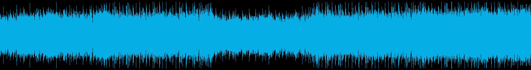 穏やかな日常・ストリングスポップ・ループの再生済みの波形