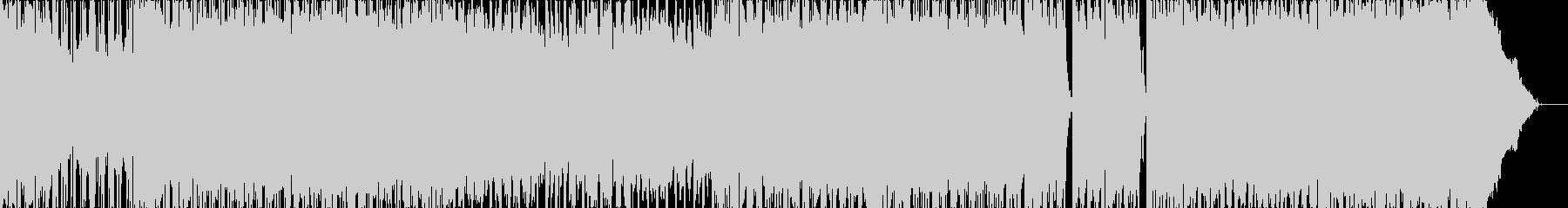 音の未再生の波形