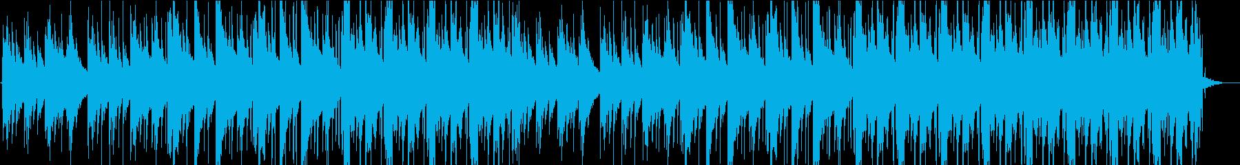 黄昏をイメージしたチル系ヒップホップの再生済みの波形