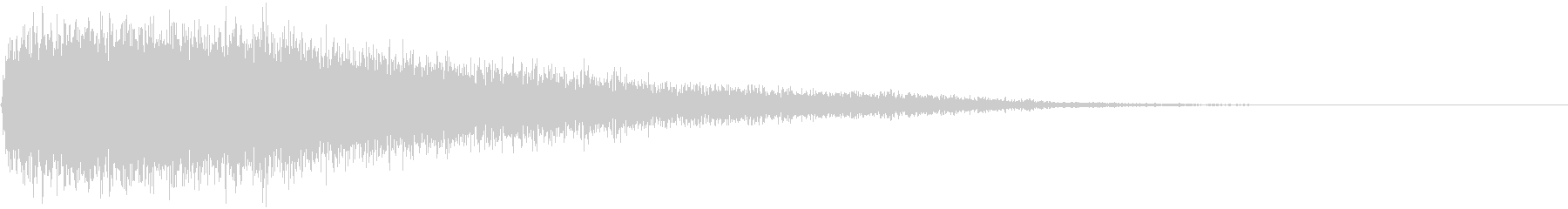 【衝撃音】SF_03 ドゴーンッッ!!の未再生の波形