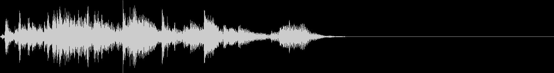 【生録音】犬の首輪のチェーンが鳴る音の未再生の波形