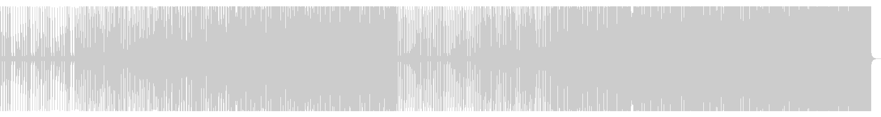 疾走感 / 駆け抜けるハウス_No374の未再生の波形