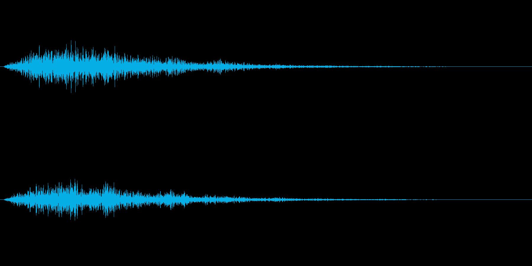 宇宙船や機械的な音ですの再生済みの波形