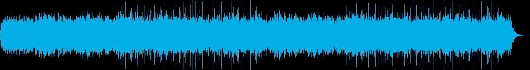 優しい鐘の音のラブバラードの再生済みの波形