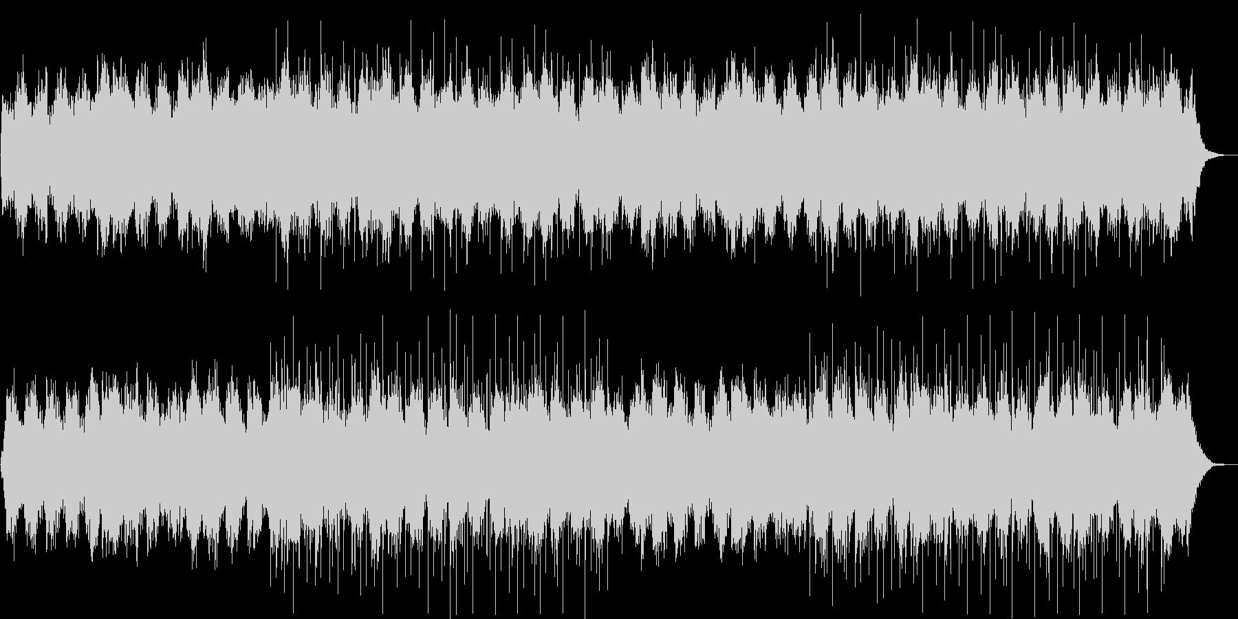 優しい鐘の音のラブバラードの未再生の波形