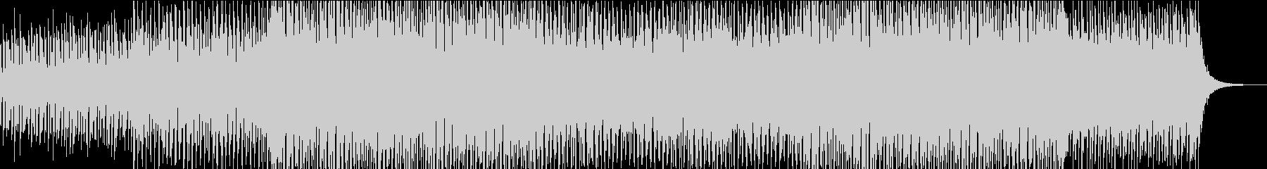 TV・ラジオのBGMを意識したエレクトロの未再生の波形