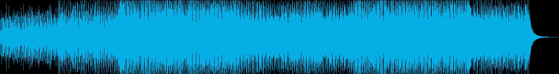 TV・ラジオのBGMを意識したエレクトロの再生済みの波形