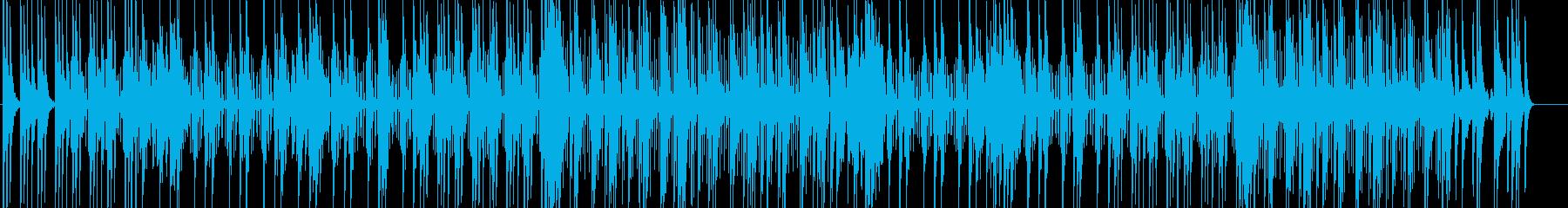 夜空を眺めるグランピング-エレクトロニカの再生済みの波形
