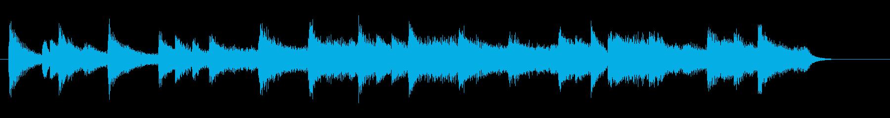 感動、切ない、恋愛系バラードBGM 2の再生済みの波形