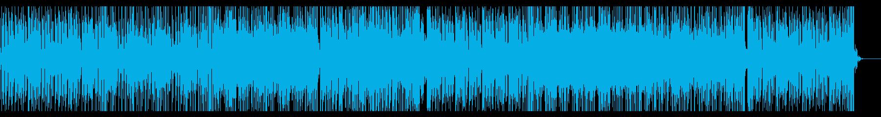優しくて気だるくてオシャレなBGMの再生済みの波形