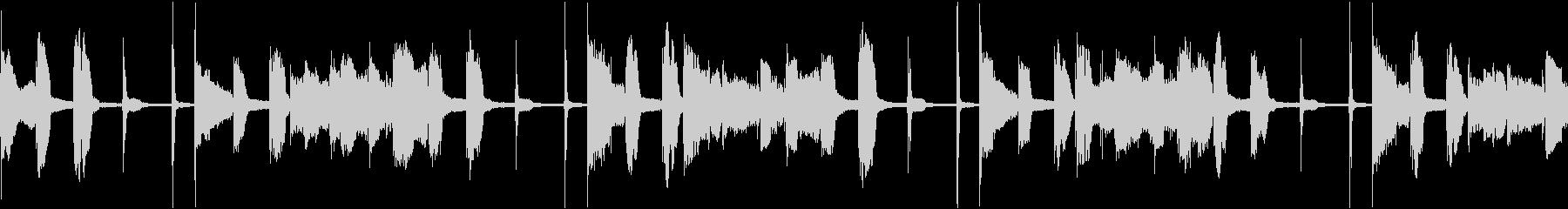ループ素材_ファンクスラップギターの未再生の波形