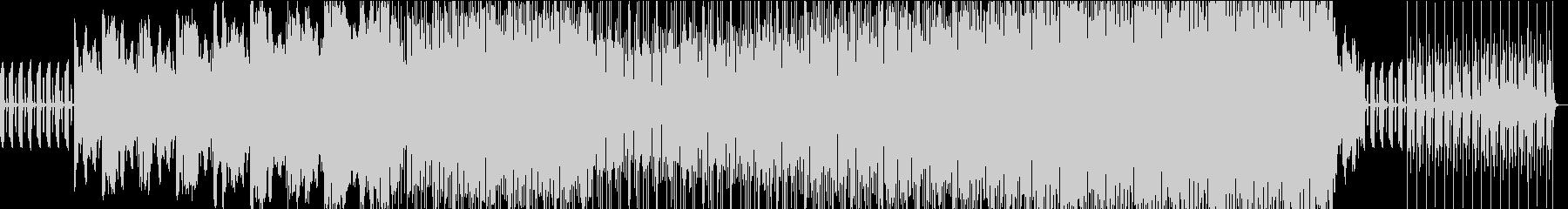 摩訶不思議なダークファンタジーっぽい曲の未再生の波形
