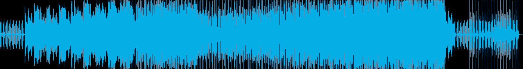 摩訶不思議なダークファンタジーっぽい曲の再生済みの波形