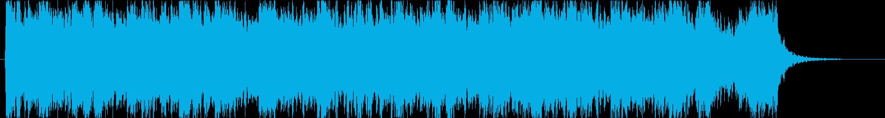 奇跡感動的なピアノとオーケストラ:短縮版の再生済みの波形