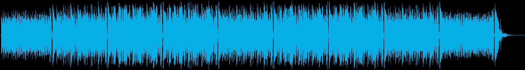 ホルンとハーモニカのほのぼのポップスの再生済みの波形