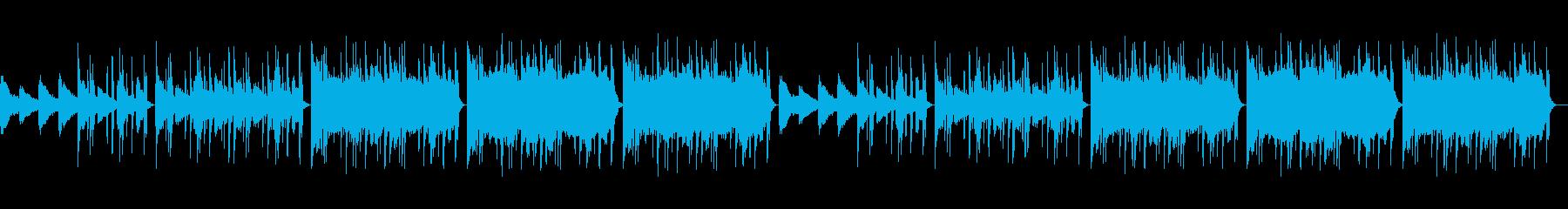 【チル】ゆったりとしたBGM・3の再生済みの波形